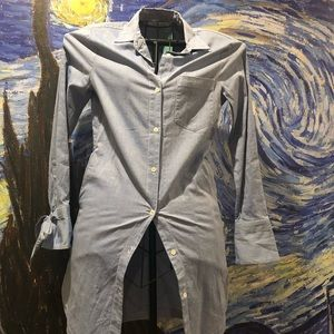 Also chambray shirt dress